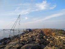 Puerto de la playa foto de archivo