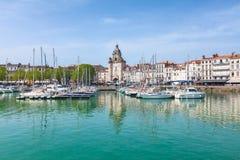 Puerto de La Rochelle Imágenes de archivo libres de regalías