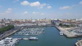 Puerto de La Rochelle Imagenes de archivo
