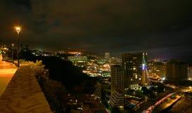 Puerto DE La 's nachts Cruz Stock Foto's