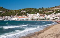 Puerto de la Selva  in Catalonia, Spain Royalty Free Stock Image