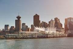 Puerto de la travesía de Vancouver Foto de archivo