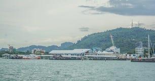 Puerto de Langkawi Fotos de archivo libres de regalías
