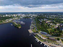 Puerto de Lappeenranta Fotografía de archivo libre de regalías