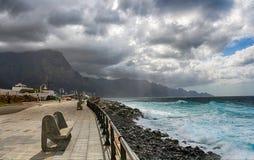 Puerto de las Nieves, θλγραν θλθαναρηα Στοκ εικόνες με δικαίωμα ελεύθερης χρήσης