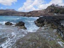 Puerto de Las Nieves Stockfoto