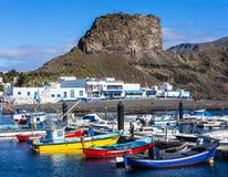 Puerto de las nieves  Gran Canaria Stock Photo