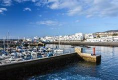Puerto de las Nieves, view on the harbour Stock Image