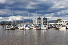 Puerto de Launceston Fotografía de archivo libre de regalías