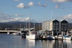 Puerto de Launceston imágenes de archivo libres de regalías