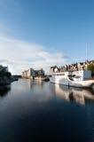 Puerto de Leith - Edimburgo, Escocia Fotografía de archivo