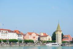 Puerto de Lindau Imagen de archivo libre de regalías
