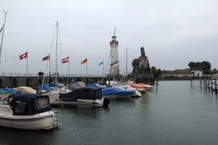 Puerto de Lindau Imagen de archivo