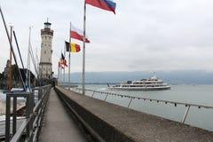 Puerto de Lindau Foto de archivo