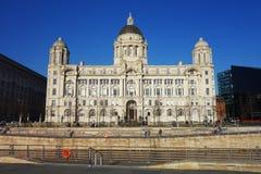 Puerto de Liverpool Fotografía de archivo