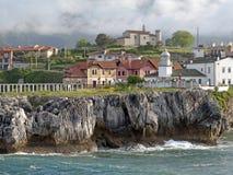 Puerto de Llanes Imágenes de archivo libres de regalías