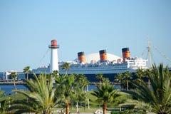 Puerto de Long Beach Imágenes de archivo libres de regalías