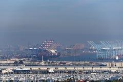 Puerto de Los Ángeles Imagen de archivo libre de regalías