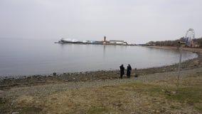 Puerto de los deportes vladivostok Rusia Foto de archivo libre de regalías