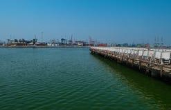 Puerto de los pescados de Jedda Foto de archivo libre de regalías