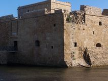 puerto de los phafos Chipre foto de archivo