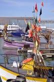 Puerto de los Sables d ?Olonne de Les en Francia imagen de archivo libre de regalías