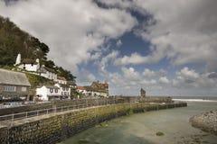 Puerto de Lynmouth foto de archivo