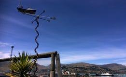 Puerto de Lyttelton de Christchurch - Nueva Zelanda Foto de archivo libre de regalías