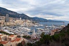 Puerto de Mónaco Fotos de archivo libres de regalías