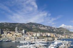 Puerto de Mónaco Fotografía de archivo