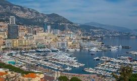 Puerto de Mónaco Fotos de archivo