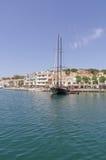 Puerto de Mahon en Menorca Imágenes de archivo libres de regalías