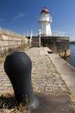 Puerto de Malmö del faro Imagenes de archivo
