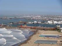 Puerto de Mar del Plata Imagen de archivo