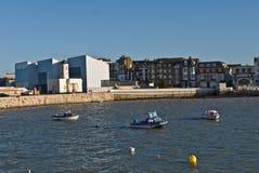 Puerto de Margate y Turner Contemporary Gallery Fotografía de archivo