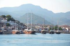 Puerto de Marmaris Imagen de archivo libre de regalías