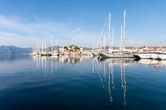 Puerto de Marmaris, Turquía Fotos de archivo