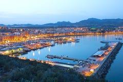 Puerto De Mazarron, Hiszpania Zdjęcia Royalty Free