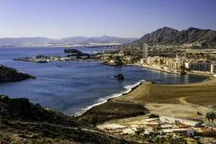 Puerto de Mazarron, Múrcia, Espanha Imagem de Stock Royalty Free