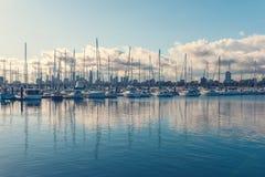 Puerto de Melbourne del lado del ingenio del puerto foto de archivo