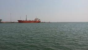 Puerto de Mersin foto de archivo