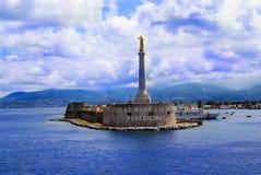 Puerto de Messina Fotos de archivo