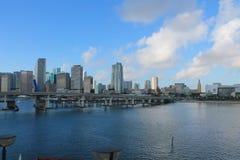 Puerto de Miami Fotografía de archivo