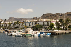 Puerto de Mogán. Royalty Free Stock Photography