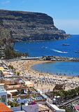Puerto De mogà ¡ n panorama obraz stock