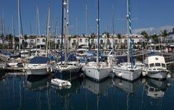 Puerto de Mogan Stock Photo