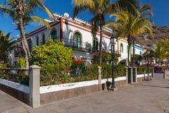 Puerto de Mogan Fotografia Stock Libera da Diritti