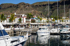 Puerto DE Mogan Stock Foto's