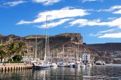 Puerto DE Mogan stock fotografie