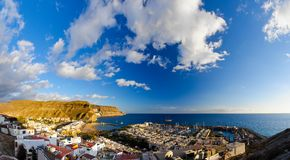 Puerto de Mogan bay Stock Photography
